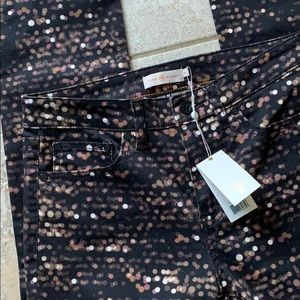 Tory Burch BlackFlash Allover Jeans